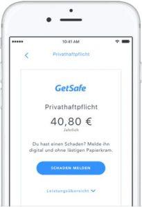 GetSafe App Erfahrungen