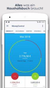 Finanz App MoneyControl