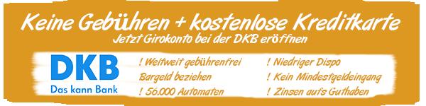 DKB Banner Empfehlung