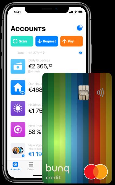 Bunq Premium Konto App