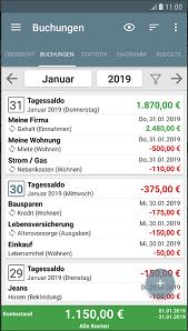 Haushaltsbuch App Google Play